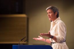 Margrethe Vestager, Data driving sustainability