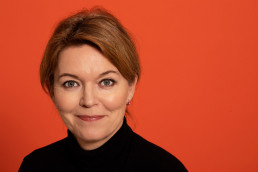Lise Kingo with Sustainia