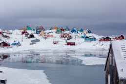 Town of Aasiaat (Greenland) - Arctic Opportunity Explorers
